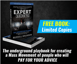 The Expert Secrets book