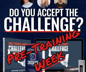 One Funnel Away Challenge – Pre-Training Week – What's Involved