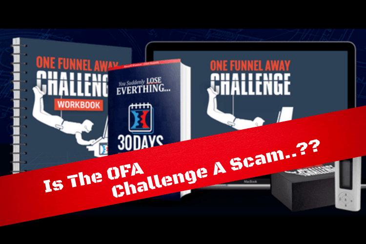 The OFA Challenge kit and scam banner