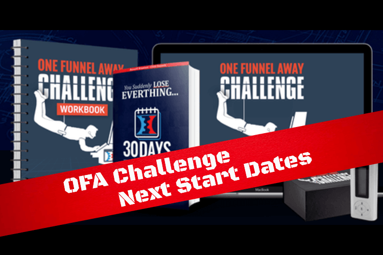 Next start dates for OFA Challenge