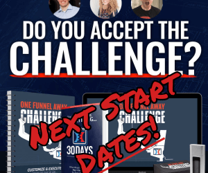 Next Start Date For The One Funnel Away Challenge – Oct 27th 2019