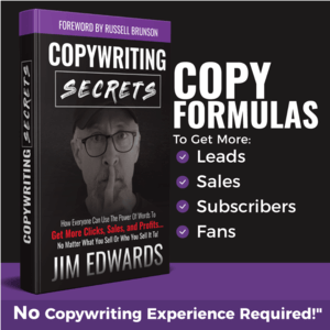 The Copywriting Secrets book which pre-seeds Funnel Scripts