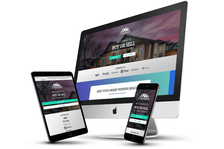 A ClickFunnels real estate funnel template