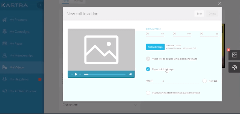 Hosting your videos within your Kartra membership site